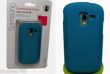 Lot OEM T-Mobile Blue Body Glove Dimensions Case for Samsung Galaxy Exhibit T599