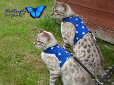 Butterfly Cat Jackets - Walking Harness Vest Holster Jacket Various Designs