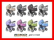 NEW PRAM RIKO PRIMO 2in1 + GRATIS + FAST SHIPPING BEAUTIFUL COLOURS