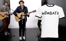 The Wombats Men Rock Tour T Shirt Band Punk Pop FOTL Ringer Tee Top S 2XL New