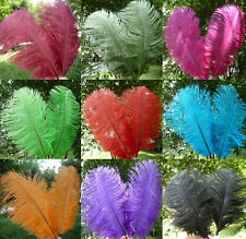 Wholesale 10-100pcs natural ostrich feathers 15-20cm / 6-8inches