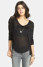 NWT Free People 'Gatsby' Embroidered Tee