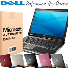 Windows 7 Professional Dell Latitude Core Duo 3.36-4.40GHZ 2GB 60-80GB Laptop