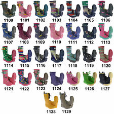 29 Types Kids Wellington Boots Girls Fashion Boys Toddlers Waterproof Wellies