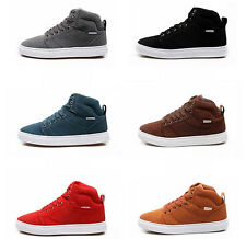 Mens fashion Sneakers ankle boots hip-hop lace up athletic Casual High-Top Shoes