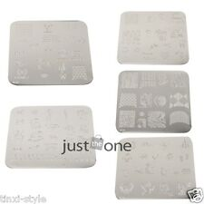 1 piece Multi-styles Nail Art Image Stamp Stamping Plates Manicure Template New