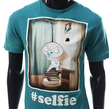 NEW OFFICIAL FAMILIY GUY STEWIE PETER GRIFFIN AMERICAN DAD SELFIE FUNNY TSHIRT 2