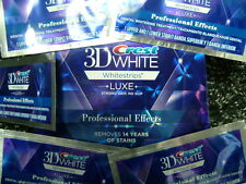 Crest3D Luxe PROFESSIONAL EFFECTS teeth whitening white strips 1,6,9,12,15,18,22