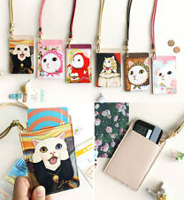 JETOY - Choo Choo Card Neck Strap - ID Card Credit Card Metro Card Case Holder