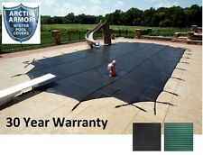 NEW Arctic Armor In Ground Swimming Pool 30 Year Mesh Winter Safety Covers