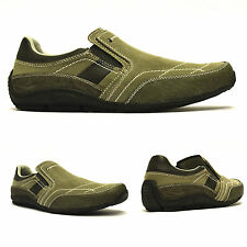 Mens Casual Smart Slip On Moccasin Walking Running Trainers Driving Shoes Size
