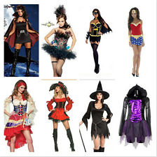 Women's Festival Halloween Cosplay Fancy Dress Devil Theme Party Stage Costume
