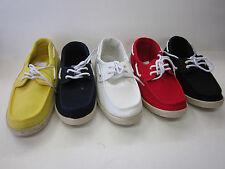 LADIES SPOT ON LACE ROUND TOE CASUAL CANVAS SHOES IN 5 COLORS! F8274