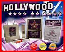 NEW & PERSONALISED HOLLYWOOD STAR WALK OF FAME GIFT FROM SANTA TO SON / DAUGHTER