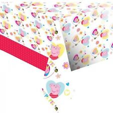 PEPPA PIG PARTY TABLECOVER, PEPPA PIG PARTY ITEMS
