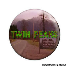 Welcome To Twin Peaks Pin Button Badge Fridge Magnet (David Lynch)