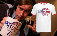 Alan Partridge North Norfolk Digital Coogan Mens Tv FOTL Ringer T-Shirt Tee New