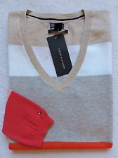 NWT TOMMY HILFIGER WOMENS COLORBLOCK STRIPE SWEATER