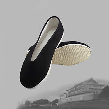 Traditional Chinese Martial Jackie Chan Kung Fu Shoes Slip On Cotton Sole A