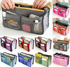 Lady Women's Nurse Inside Handbag Pouch Purse Travel Organizer Insert Bag in Bag