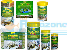 Tetra ReptoMin ReptoDelica 12g 100ml 250ml 500m 1L tube 10L  Bucket Turtle Food