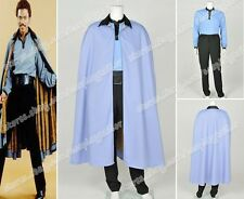 Star Wars Episode VII 7 Lando Calrissian Cosplay Costume Suit Cloak Shirt Pants