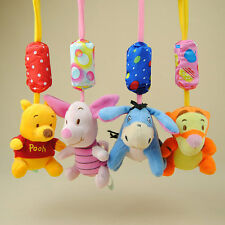 New Cute Kids Hanging Bed Toys Baby Bed Hanging Toy and Ring The Bell Animals yo