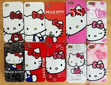 New Hello Kitty Case Cover for Apple iPhone 4 4s 5 5S 5C 6 6 Plus Free Protector