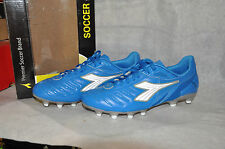 New Diadora Maracana L BLUE Soccer Cleats Mens Sizes