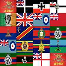 MILITARY FLAGS - ALL SIZES - ROYAL - BRITISH - GERMAN - REMEMBRANCE - LARGE