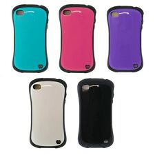 For iPhone 4s / 4 Glossy Back Impact 2-Tone Case Cover -Shock Resistant