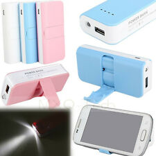 5600mAh External Battery Charger Power Bank w/Stand For iPhone5s Samsung HTC LG