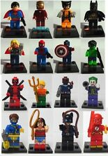 SUPERHEROES MINIFIGURES compatible with LEGO® +BUY 4 Free 1 + FREE LEGO 30302