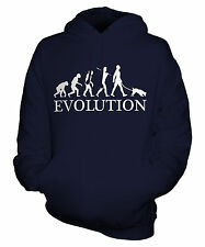 JACK RUSSELL TERRIER EVOLUTION OF MAN UNISEX HOODIE MENS WOMENS LADIES DOG GIFT