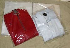 """12 x 15 - 25 50 100 200 Clear Plastic Bags Poly T Shirt  2"""" Flap Packaging Ship"""