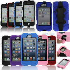 Survivor Waterproof Shockproof Military Duty Case Cover For iPhone 4 4S 5 5S 5C