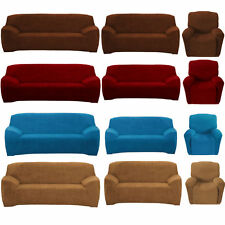 4-Way Stretch Fit Sofa Removable Slip Covers Couch Recliner Lounge 1/2/3 Seater