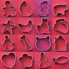 Gingerbread Man Biscuit Cookie Sugarcraft Cake Decorating Metal Cutter Pastry