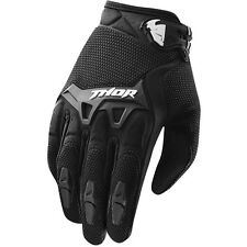 Thor NEW 2016 Youth Mx Gear Spectrum Black BMX Motocross Dirt Bike Kids Gloves