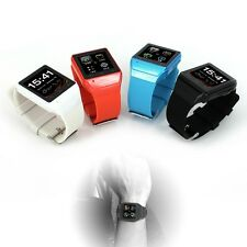 Anti-lost Touch Smart Watch GSM Phone 2MP Camera Bluetooth Sync 4 iPhone Android