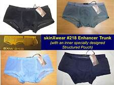 """skinXwear #218 L (34 - 36"""") Inner Lift-Up Pouch Enhancer Trunk ~many colors SEXY"""