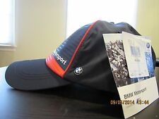 New With Tag PUMA Official BMW Team Blue Snapback Hat Cap