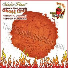 Ghost Pepper Powder / Smoked Dried Bhut Jolokia Powder (5 size variations)