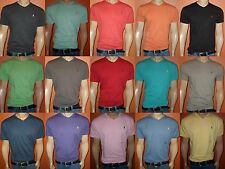 POLO RALPH LAUREN CLASSIC V-NECK T-SHIRTS NEW COLORS SIZES S,M,L,XL,XXL NWT!!