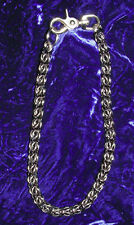 """23 - 32"""" Chainmail Wallet chain Stainless-Choice Biker SCA Viking Steam Cosplay"""