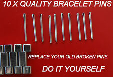 QUALITY REPLACEMENT 10 X PINS FOR YOUR VINTAGE OMEGA WATCH BRACELET LINK PIN