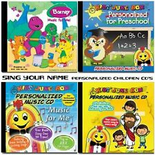 Name Personalized Children CDS - Barney - Spider Man - Care Bears - Christian