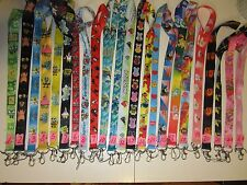 Cartoons-Game-Anime  Lanyards Id Badge Holder Plus Clear ID Ticket Holders.