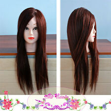 """22"""" hottest Head Mannequin + Clamp + Steel Comb Cosmetology Practice Training ❤"""