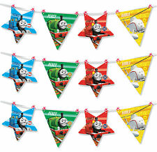 Thomas the Tank Engine 2.5m Make Your Own Party Flag Banner Bunting 1 - 5pk
